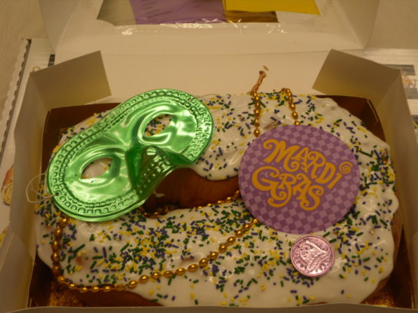 King Cake from Delicious Donuts