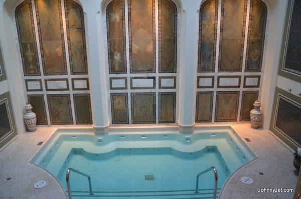 Co-ed mineral pool in spa at Montage Beverly Hills