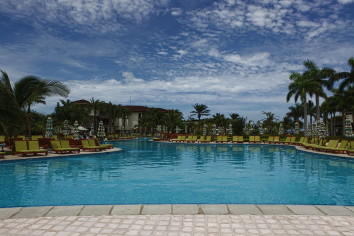 The pool at the JW Marriott Guanacaste