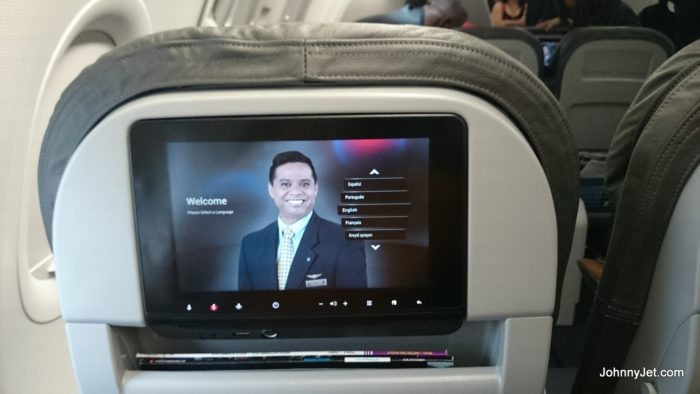 American Airlines New A321 Entertainment Systems