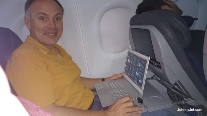 American Airlines New A321 Seats Are Tight When Person In Front Reclines