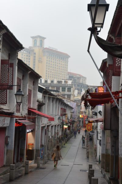 """Rua da Felicidade (""""Happiness Street"""") was once the heart of Macau's red light district. Today, it is an authentic shopping street with great food."""
