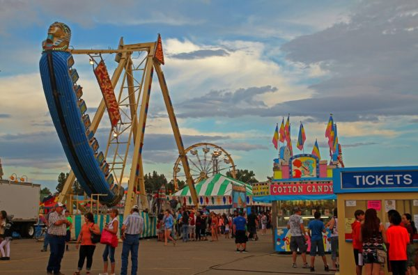 Fun at the Montana State Fair in Great Falls (Credit: Bill Rockwell)