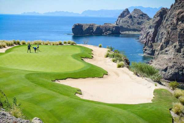 The view from the 17th hole at Danzante Bay is breathtaking