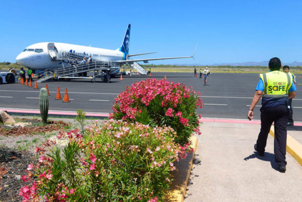 Lovely little airport of Loreto