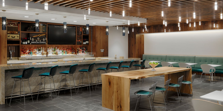 The New American Express Centurion Lounge at DFW