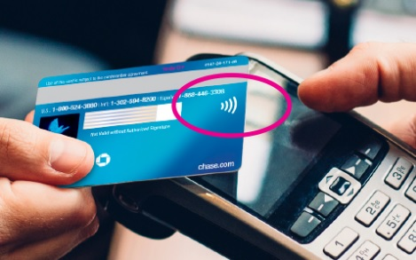Chase Contactless Credit Cards