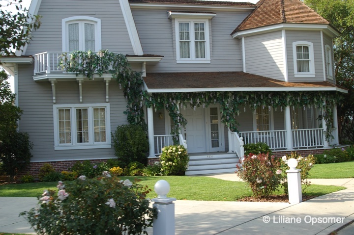 House on Wisteria Lane from Desperate Housewives set