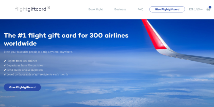 How to buy a flight gift card you can use with multiple airlines