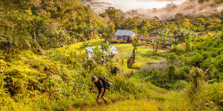 """Walking with Ghosts in Papua New Guinea"""" by Rick Antonson"""