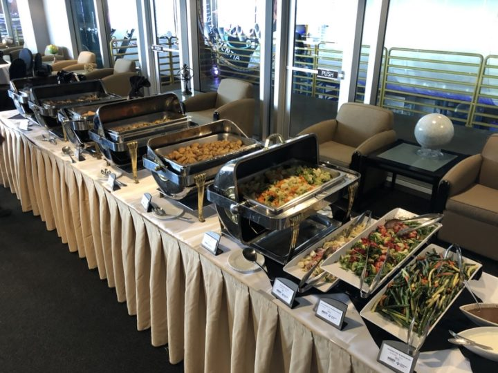 Embraer Media Day lunch